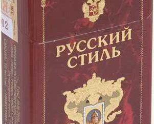 """""""Stile russo"""" – sigarette: Descrizione"""