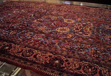 tapis iranien – un morceau chic mobilier