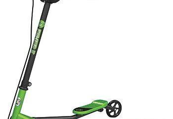 Les enfants scooter d'inertie
