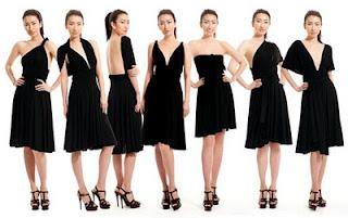 Cómo atar un vestido-transformador? Vestido-transformador: las opciones de configuración y fotos