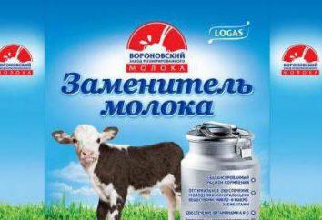 Le lait pour veaux: composition, des instructions, des critiques. lactoremplaceur