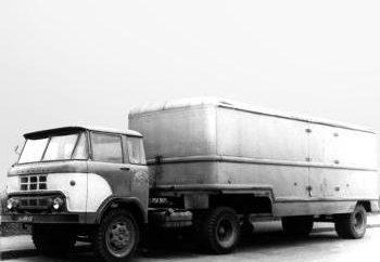 Camiones soviéticas: características modelo. Cólquida, Ural, ZIL