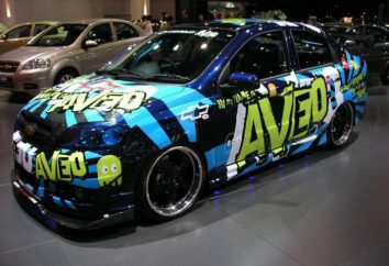 "Tuning ""Chevrolet Aveo T250"""