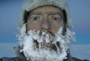 Los primeros auxilios para la congelación y la hipotermia
