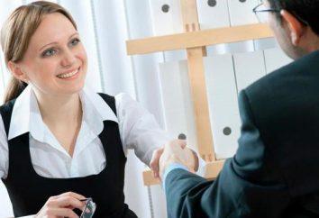 CV de exemplo no banco: uma descrição detalhada e exemplo