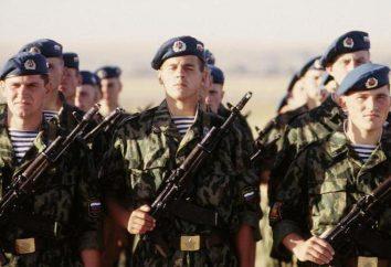 Trooper – ein Elite-Soldat. Beschreibung Landung
