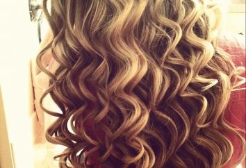 capelli splendidi: ferro dei capelli per aiutare!