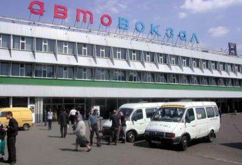 Estações de ônibus em Moscou: endereços, números de telefone