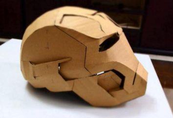 Como fazer um capacete feito de papel? Diferentes opções de fabricação