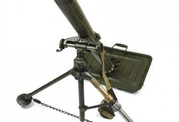 Mortier 120mm: caractéristiques (photo)