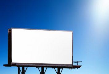 Panneau d'affichage – il est l'une des meilleures options de publicité en plein air