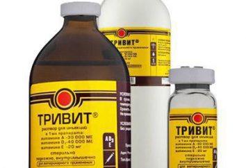 """""""Trivit"""" (dla zwierząt: właściwości, wskazania do użycia, instrukcje, opinie właściciela"""