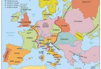 Zachodnie kraje: historia i cechy rozwoju