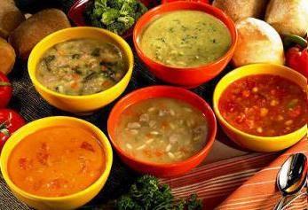 zupa niskokaloryczna: przepis. zupy niskokaloryczne do odchudzania, wskazując liczbę kalorii
