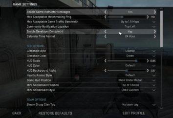 Console cheats Cs: Vai e comandi utili per la formazione