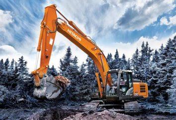 """Escavatore """"Hitachi"""" (Hitachi): le specifiche. macchine speciali giapponese"""