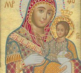 Ícone da Virgem Maria de Belém. Ícones ortodoxos. Ícones dos santos