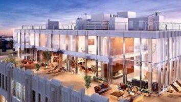 Zasłony – to … piękny penthouse. projekt penthouse