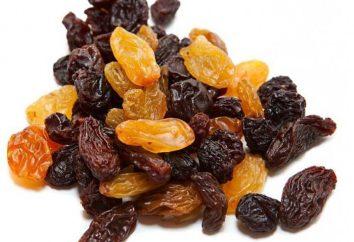 Suszone winogrona: właściwości użytkowe, szkoda zawartość kaloryczna i funkcje