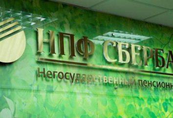« Caisse d'épargne », la Caisse de pension: commentaires client, le personnel et les avocats sur la Caisse de retraite, « Savings Bank » note russe