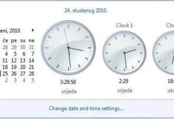 Windows XP, 2008 Server, o Windows 7. fusos horários Atualização: por que isso é necessário e como ele funciona?