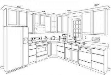 Optymalna wielkość kuchni. Wskazówki dotyczące planowania przestrzeni kuchnia, zdjęcie