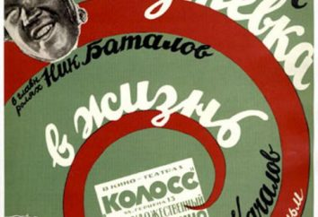 Cuando el estreno de la primera película sonora en la URSS? trama de la película, el director y los actores