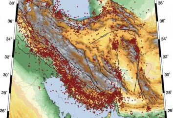 Plateau iraniana: location, location, le risorse e le caratteristiche naturali geografiche