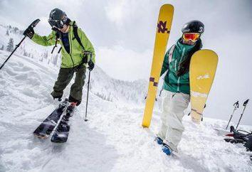 Wszystkie rodzaje narciarstwa: opis listy. Rodzaje narciarstwie alpejskim
