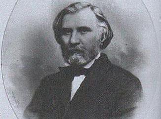 Portret Turgieniewa przez Repin