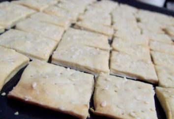Krakersy: ciasta przepis