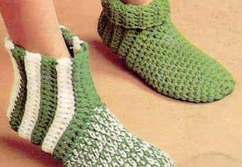 Vamos falar sobre como crochet meia de motivos multicolores