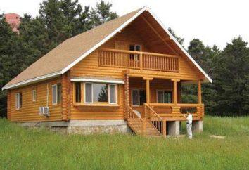 Casa de um bar com um loft: qual é a vantagem de uma construção tal?