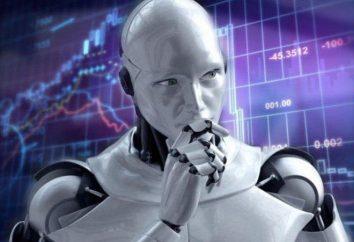 Exchange-Roboter an Händler in den Aktienmarkt: Bewertungen
