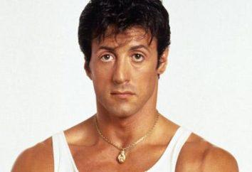 Słynny aktor Sylvester Stallone: biografia