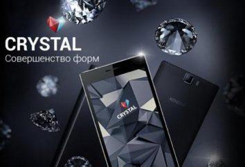 Smartphone Keneksi Kryształ: opis, dane techniczne, opisy i opinie właścicieli