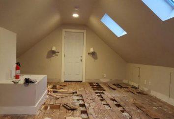 Isolation thermique du plancher du grenier sur des poutres en bois: la technologie, les caractéristiques et commentaires