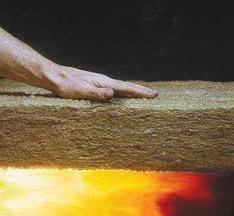 La lana mineral como la fuente de ahorro de calor