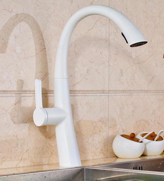 Keramik Küchenarmaturen: Typen und Eigenschaften