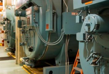 kotły przemysłowe: wytwarzanie gazu, trwałość Urządzenie