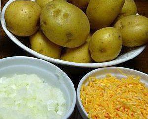 Mushroom Caçarola com batatas no forno: Características cozimento, receita e comentários
