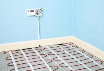 Kablowe ciepłe kondygnacji: główne zalety i wady