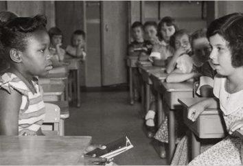 La segregazione razziale: che questo concetto è oggi?
