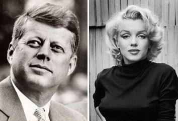 Marilyn Monroe et Dzhon Kennedi: une histoire d'amour