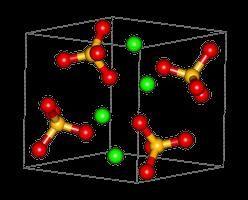 solfato di calcio. descrizione