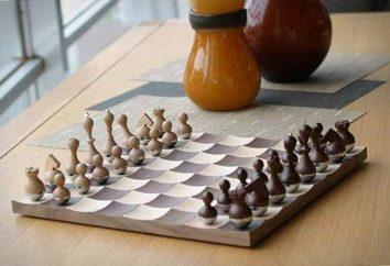Schachbrett und Innendesign: Was ist üblich?