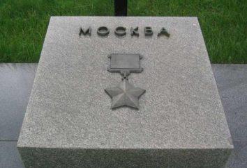 Herói da Cidade Moscou. Por que é Moscou – uma cidade-herói? Quando Moscou foi premiado com o herói-City título?