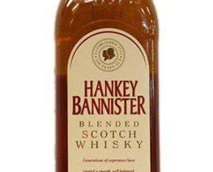"""Was nützt ein berühmter Whisky """"Hankey Bannister?"""""""