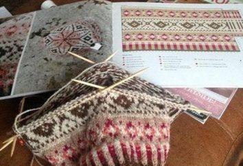 Padrões jacquard: padrões, regras para leitura e técnica de crocheting e tricô