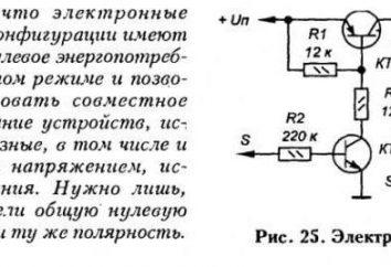 interruttori a transistor. Il principio di funzionamento del circuito
